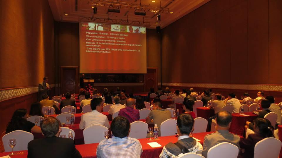 Seminar about Chilean wine in Thailand